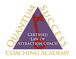 Certified law of attraction coach badge
